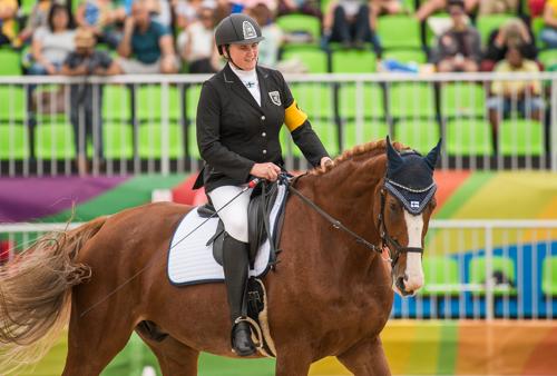 Katja Karjalainen_Rion Paralympialaiset_Ratsastus, Vapaaohjelma, 1a